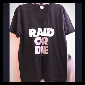 Adapt Raid or Die Women's V-Neck